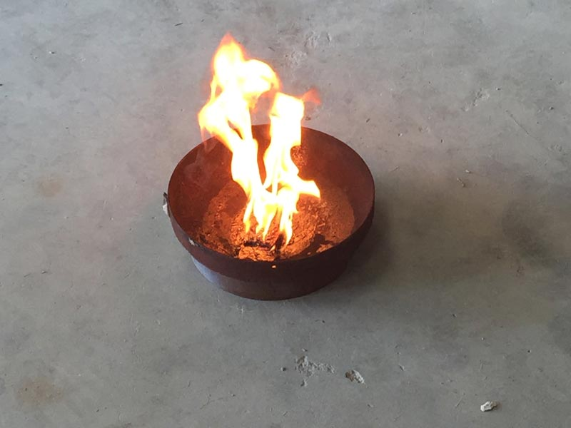 Effet pyrotechnique